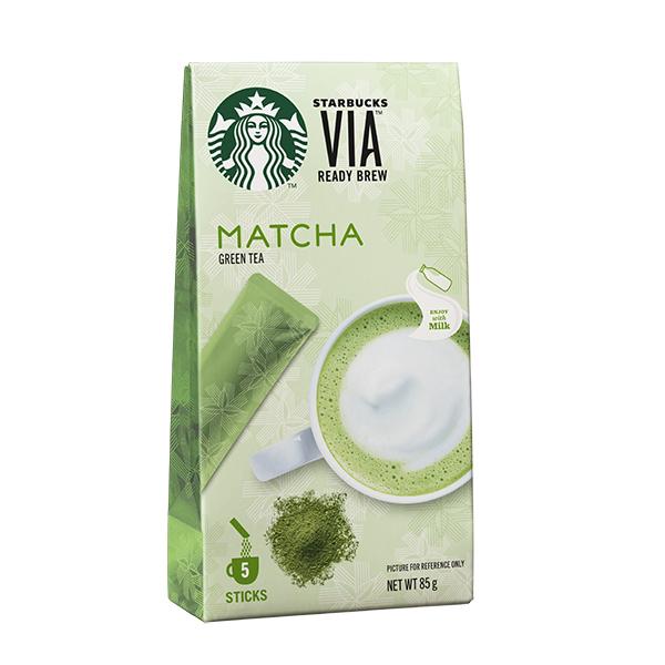 星巴克VIA抺茶粉