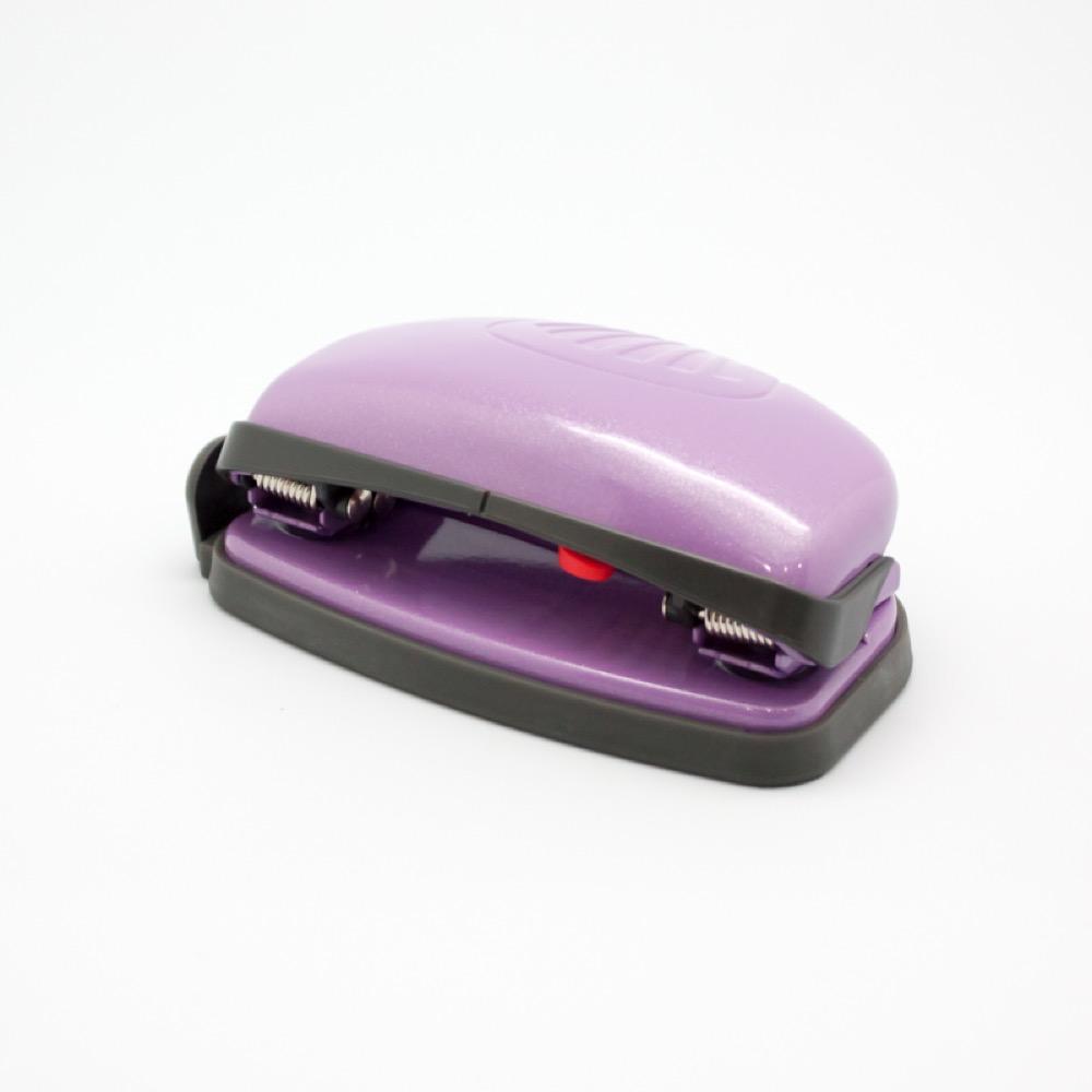 【KW-triO 台灣總代理】貝殼省力二孔打孔機/輕型-紫色