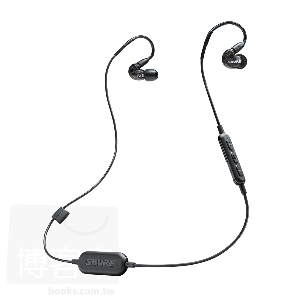 SHURE SE215 Wireless黑色 可換線 耳道式 藍牙耳機 SE215~K~B