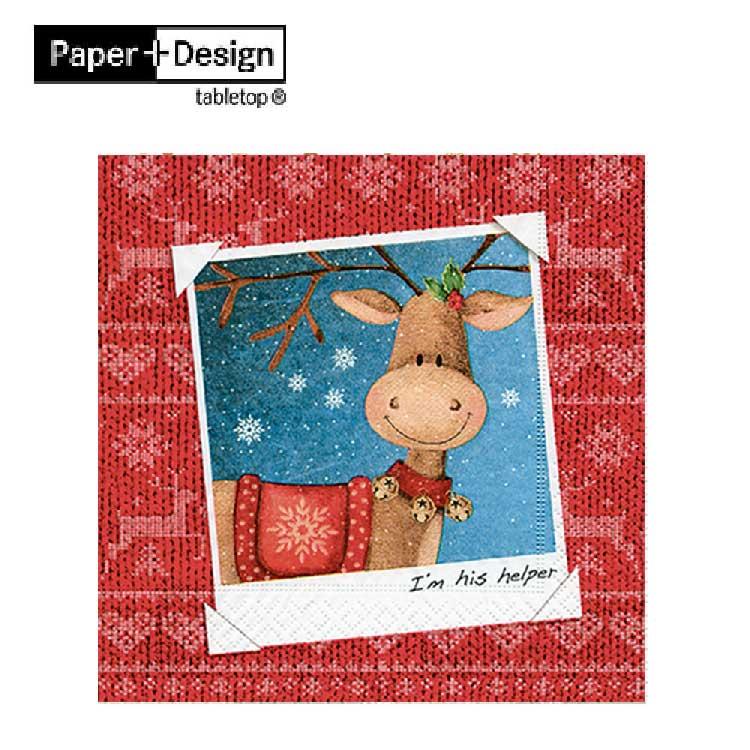 德國  ~Paper Design~ 我是他的幫手 餐巾紙哪裡買環保安全無毒不掉色蝶古巴特