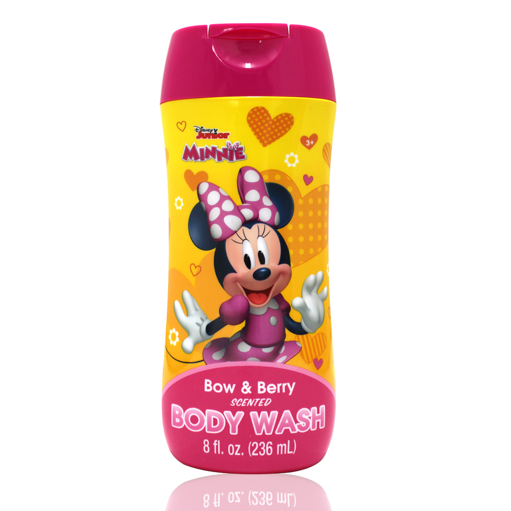 美國熱銷卡通 Disney Minnie沐浴乳(236ml/8oz)