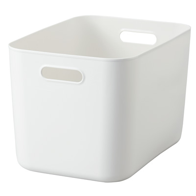 [MUJI無印良品]軟質聚乙烯收納盒/大