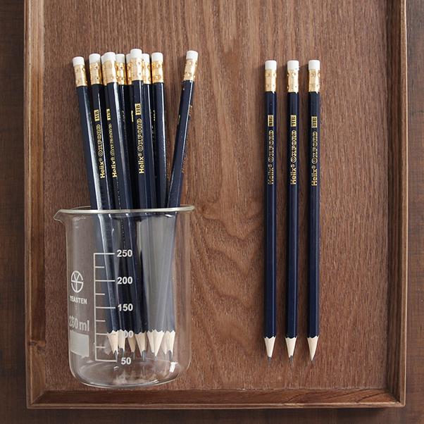 英國 Helix Oxford 牛津復古鉛筆 帶擦  HB ~ 6入組
