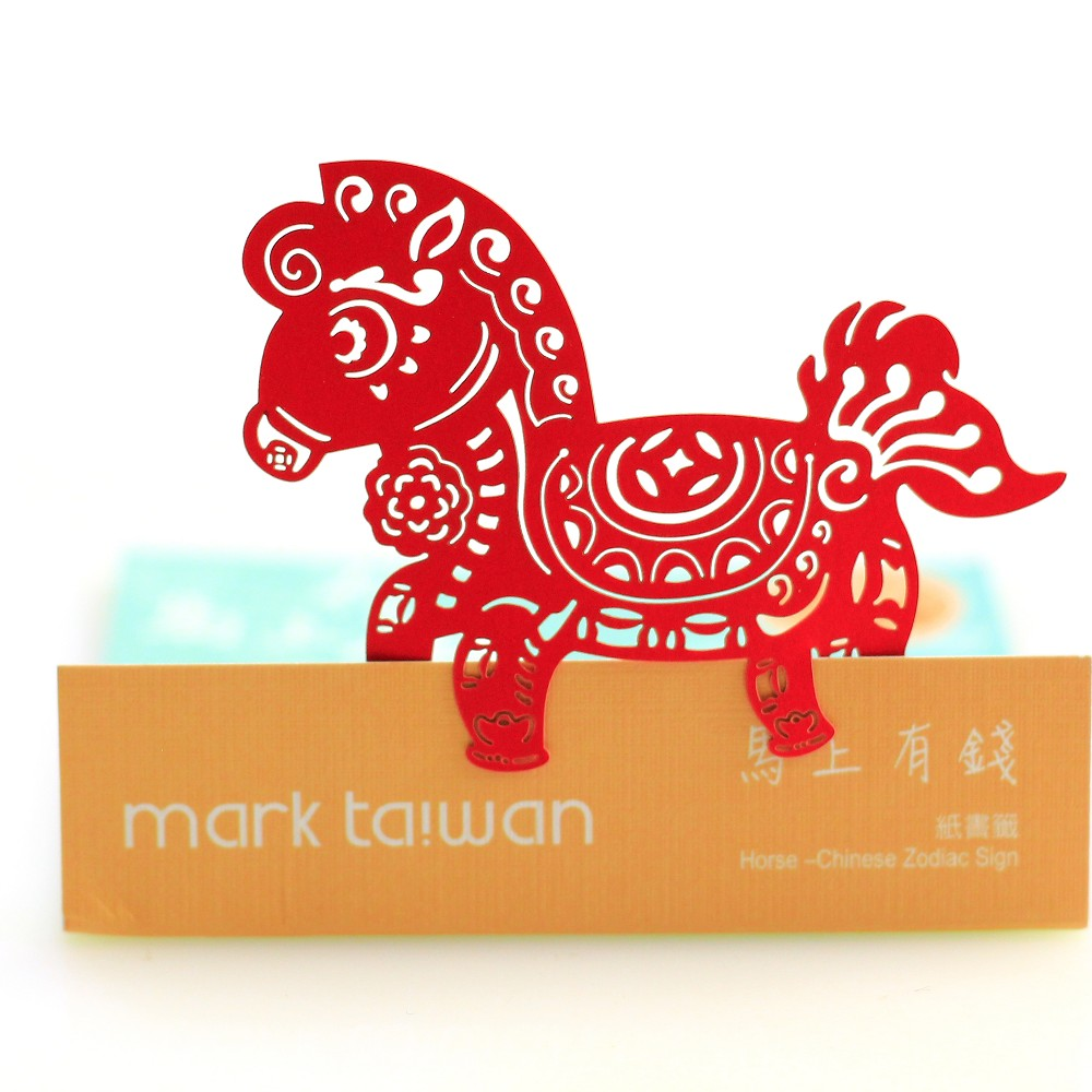 MARK TAIWAN 麥麥大節慶-馬上有錢(紙書籤) 3件/組