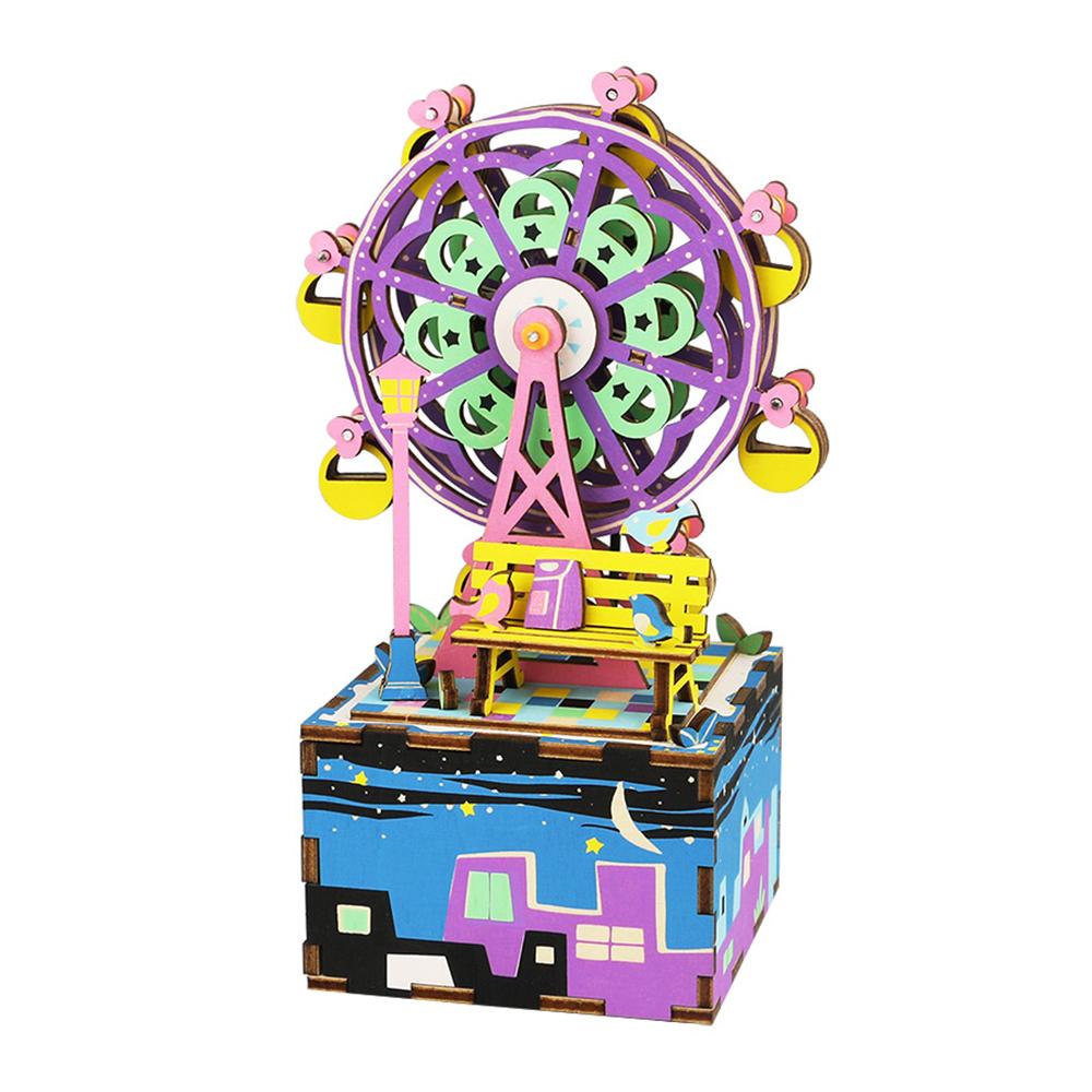 Robotime  DIY八音盒 ~幸福摩天輪