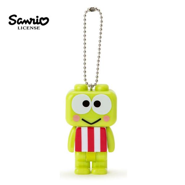 【   】三麗鷗 人物系列 積木  手電筒 吊飾 Sanrio -大眼蛙