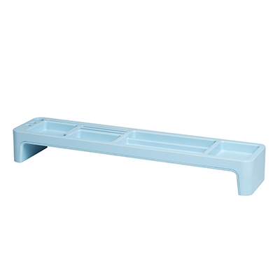【SYSMAX】 TOP多 鍵盤文具收納架-薄荷藍