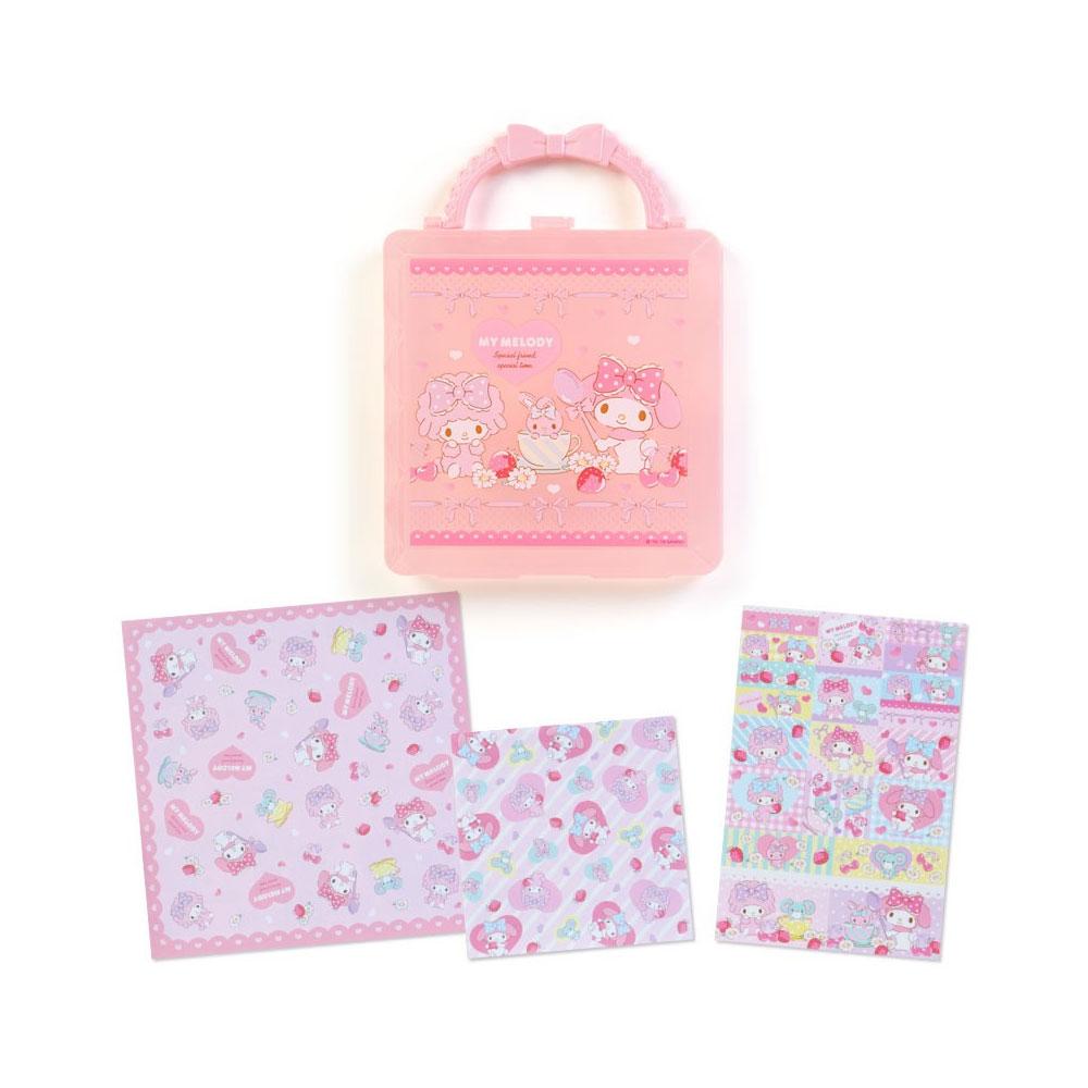 ~Sanrio~美樂蒂盒裝便條色紙組 好朋友午茶