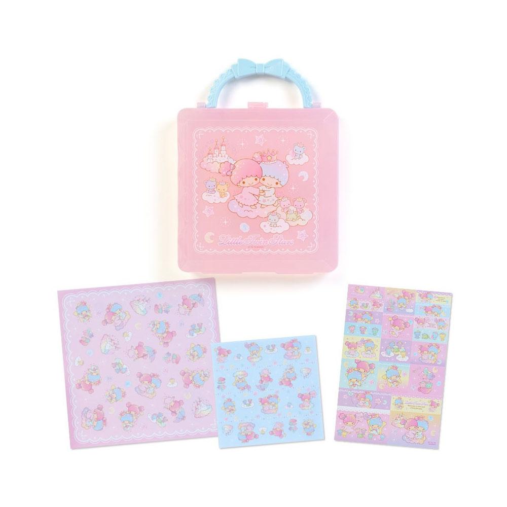~Sanrio~雙星仙子盒裝便條色紙組 幻彩城堡