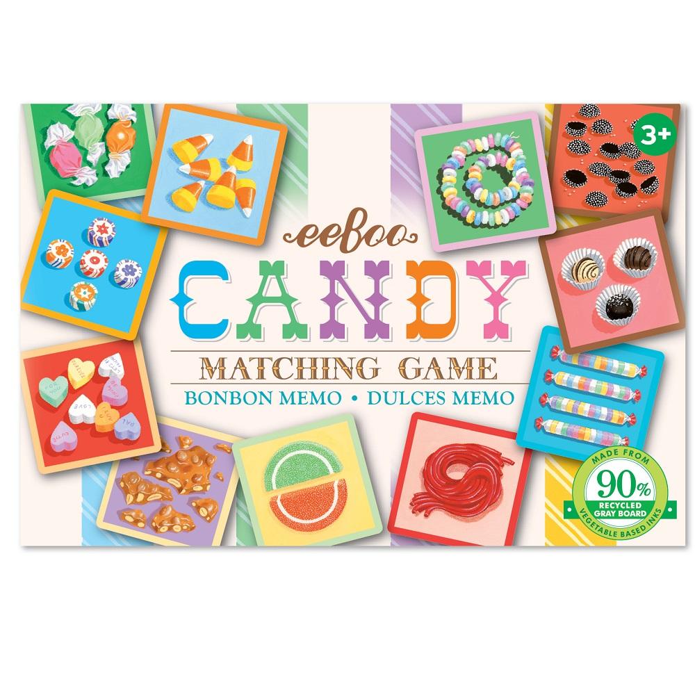 eeBoo小遊戲系列~糖果記憶遊戲Candy Little Matching Game