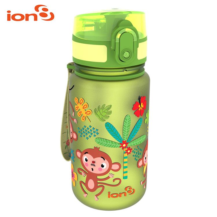ION8 Pod 休閒水壺I8350   城市綠洲 100%不含BPA無毒、100%防漏、兒童水壺 綠