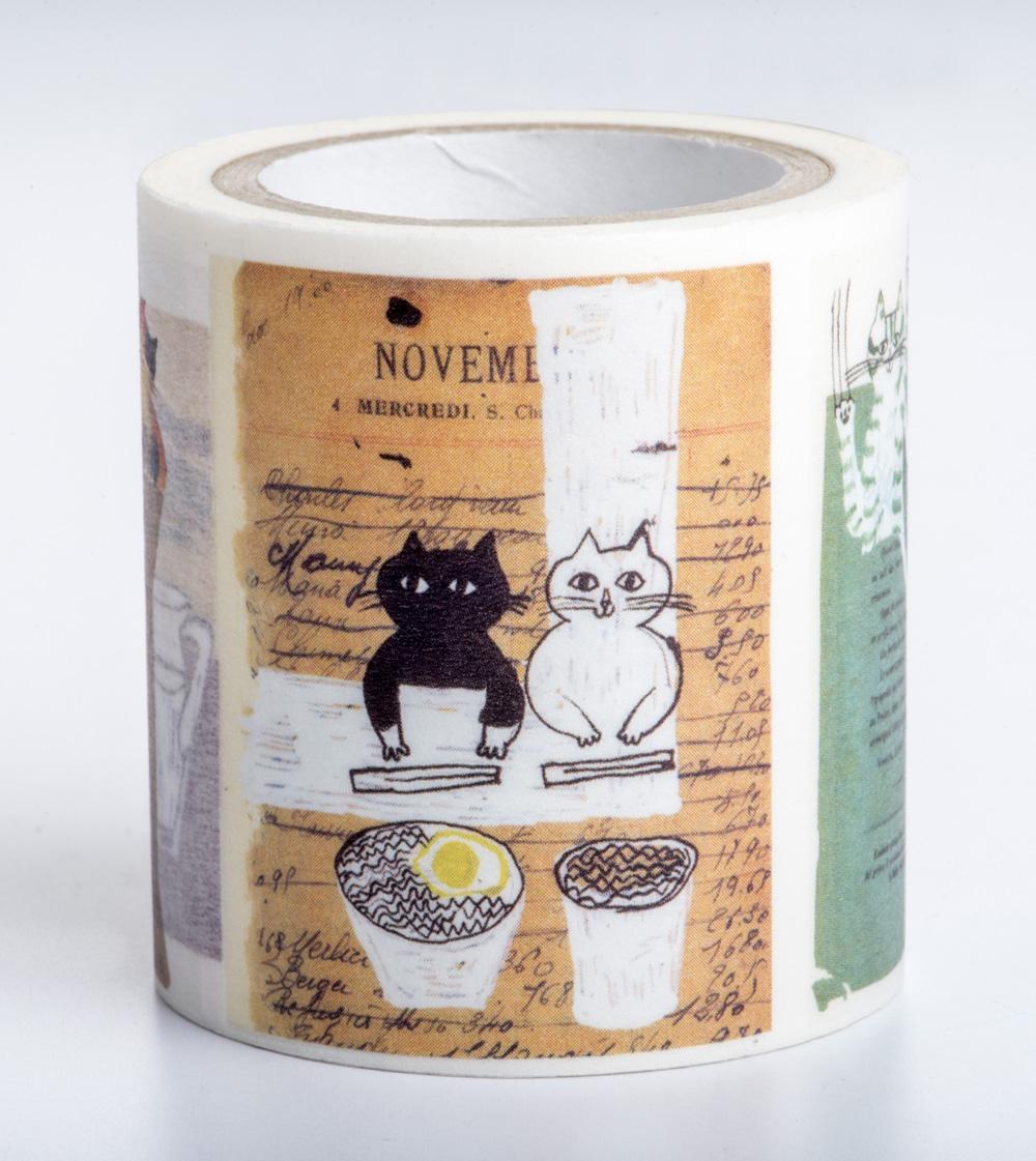 【獨家授權˙和紙膠帶】中西直子插畫「我是貓