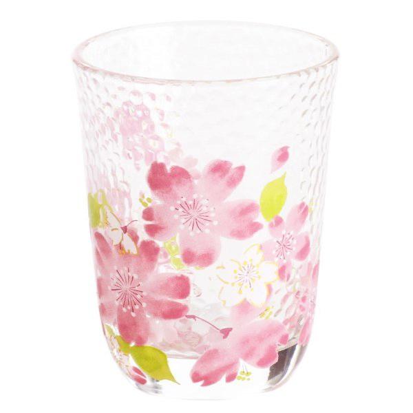 【和藍】美濃燒∣春櫻玻璃啤酒杯180ml