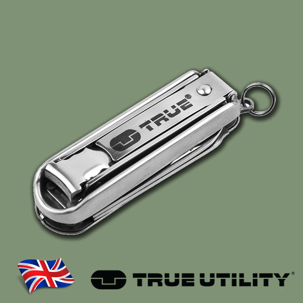 ~TRUE UTILITY~英國多 指甲刀工具組NailClip Kit
