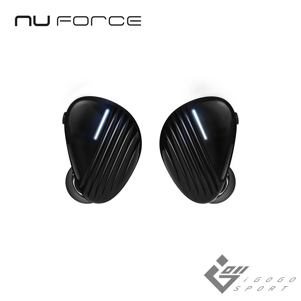NuForce BE Free8 真無線藍芽耳機-黑色