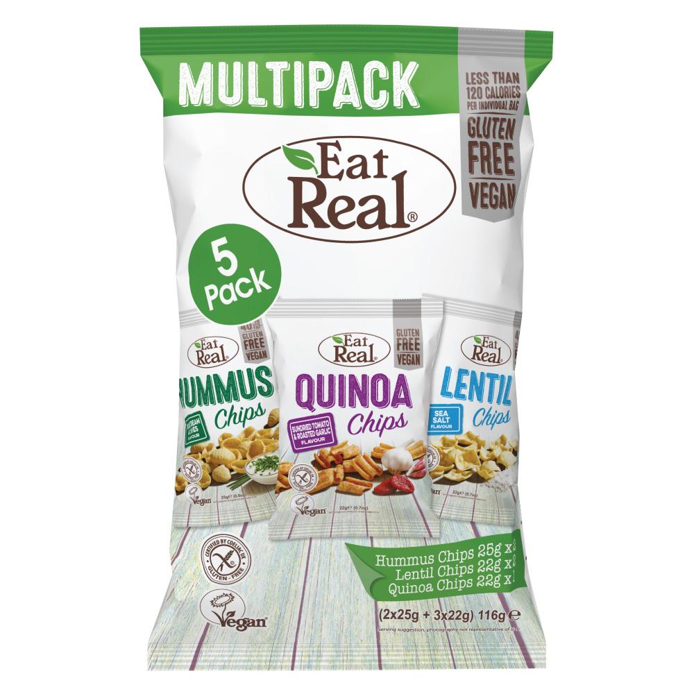 【英國Eat Real】綜合口味派對分享包(5包)