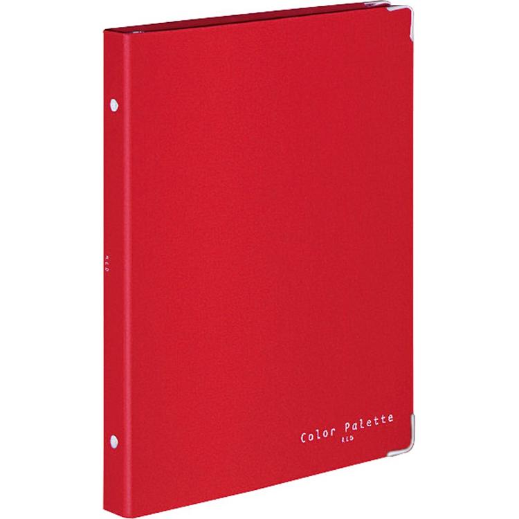 KOKUYO 布面活頁資料夾26孔B5-紅