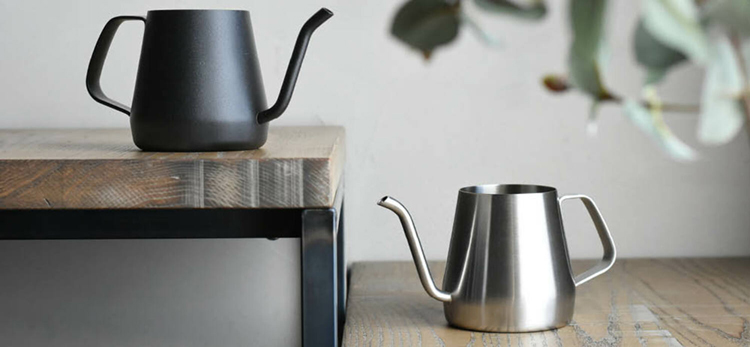 POUR OVER KETTLE手沖壺430ml-不銹鋼