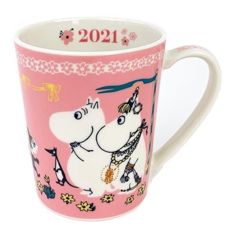 【日本YAMAKA】Moomin嚕嚕米系列2021陶瓷馬克杯