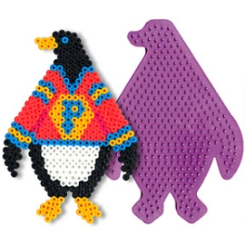 《Perler拼拼豆豆》模型板-企鵝板