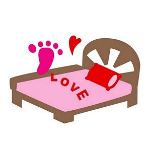 花花 卡片造型刀模_婚禮篇─床與LOVE【須搭配花花 卡片花樣造型機使用】