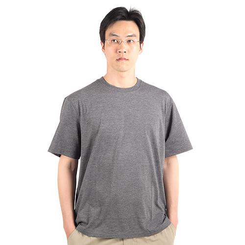 美國Royal Robbin COOLMAX短袖圓領排汗衣(男/灰)_M