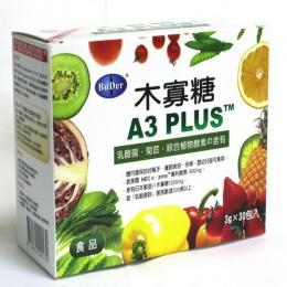【BuDer(R) 標達】A3PLUS木寡糖(3g *30包裝入)-買3送1