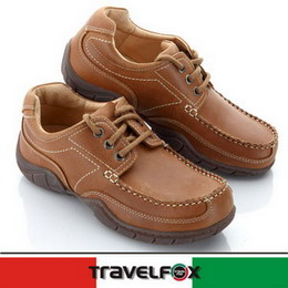 Travel Fox 晴野帆船鞋910332(淺咖啡-48)36號