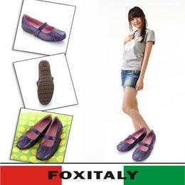 Fox Italy 樂漾平底鞋610326(紫-19)35號