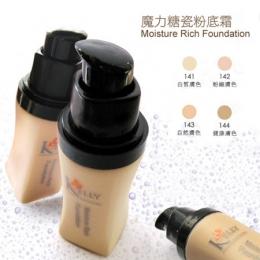 【KELLY專業彩妝】魔力糖瓷粉底霜- 141 白皙膚色