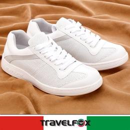 Travel Fox柏頓軟膠舒適鞋910633(白-07)42號