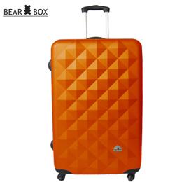 Bear Box《晶鑽系列》ABS 霧面★輕硬殼旅行箱【28吋】橘