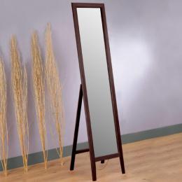 《Homelike》自然松木穿衣鏡(胡桃色)