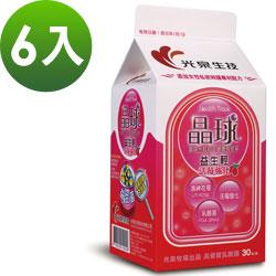 《光泉生技》晶球益生輕乳酸菌 升級版 –蔓越莓 6盒(每包3g 30包/盒)