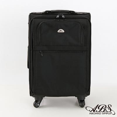 ABS愛貝斯 18吋 輕量直立式商務拉桿電腦公事包 (百搭黑) 26-028