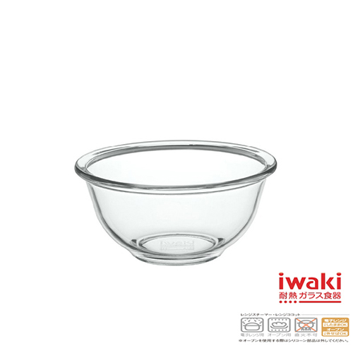 【iwaki】玻璃微波碗250ml