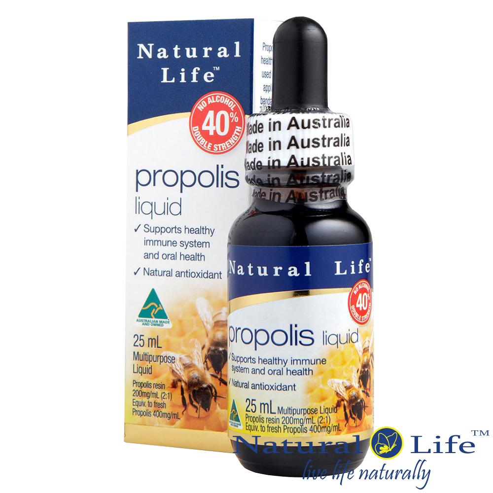 澳洲Natural Life 蜂膠液40% -無酒精(清真認證)