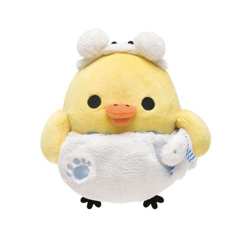 San-X 拉拉熊我愛北極熊系列毛絨公仔 (S)。小雞