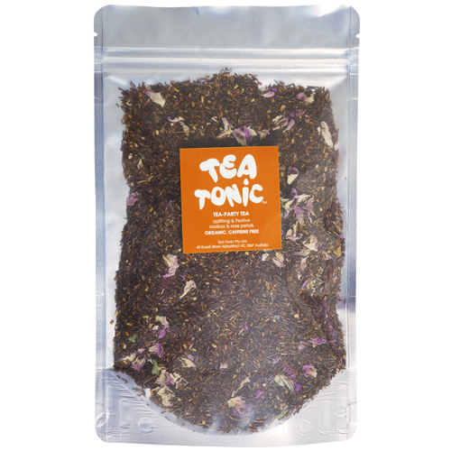 Tea Tonic澳洲花草茶 玫瑰花瓣 國寶花草茶密封包(無咖啡因)60g