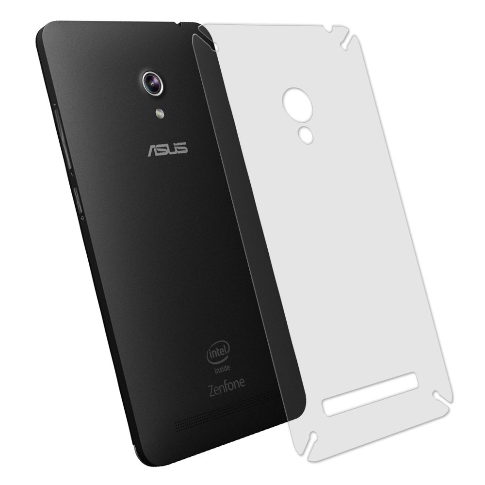 ASUS ZenFone 5 A500KL 抗污防指紋超顯影機身背膜 2入