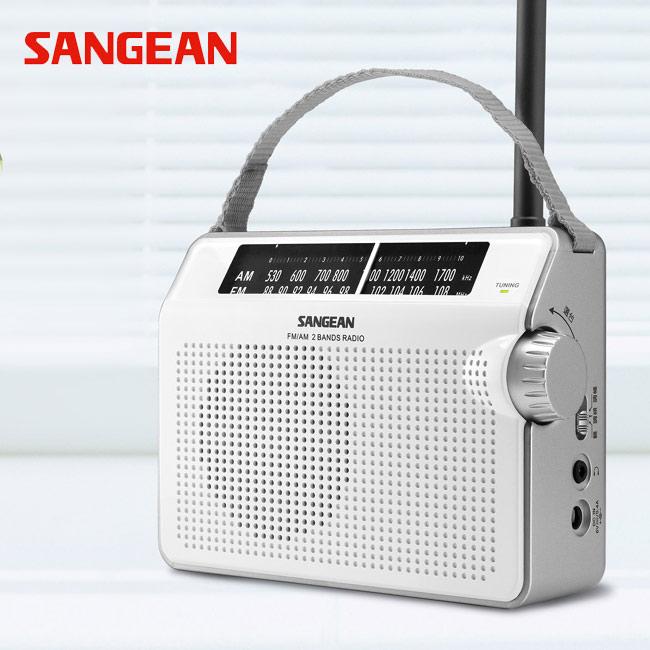 山進收音機SANGEAN-二波段復古收音機(調頻/調幅)PR-D6