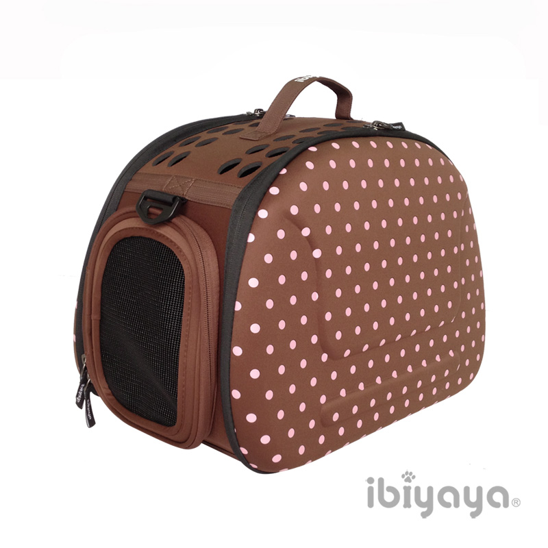 【IBIYAYA依比呀呀】FC1007輕巧摺疊寵物提包咖啡點點