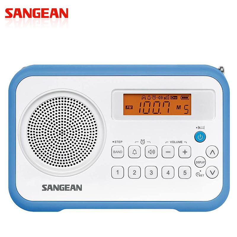 SANGEAN山進收音機-二波段數位式時鐘收音機(調頻/調幅)PR-D30