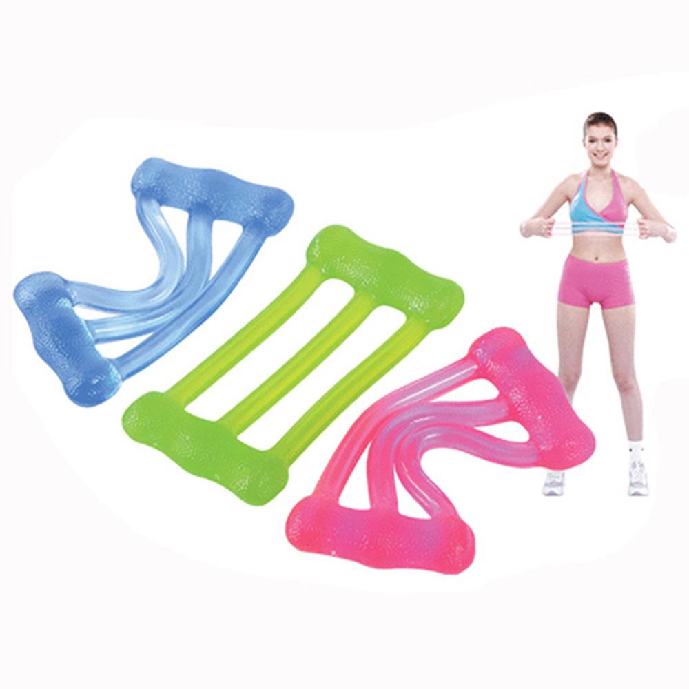 《Fun Sport》果凍拉拉隊伸展繩 三種拉力選擇 拉力-輕-粉紅