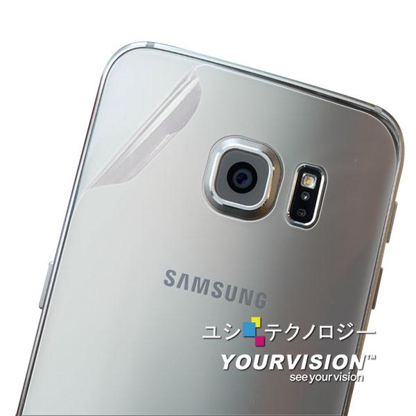 Samsung GALAXY S6 抗污防指紋大面積包覆超顯影機身背膜 保護貼 2入