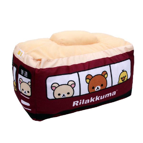 第  限定Rilakkuma x Hankyu拉拉熊阪急電車聯名系列抱枕