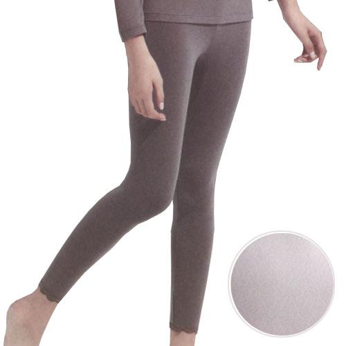 【華歌爾】EKS中空保暖褲-長褲款(M-LL號)M淺灰