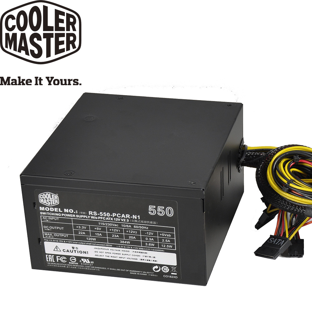 CoolerMaster Elite V2 550W 電源供應器