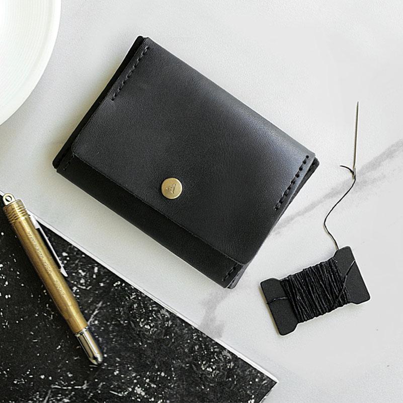 【ADOLE】DIY 零錢包黑色