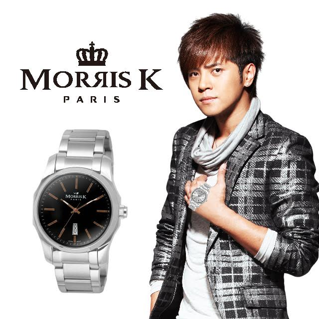 MORRIS K 都會  腕錶~黑 36mm MK11035~TA20